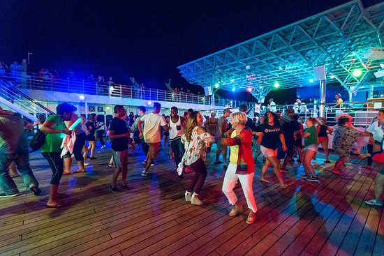 Mega Deck Party on Carnival Paradise