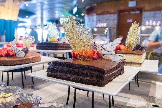 Chocolate Buffet on Carnival Paradise