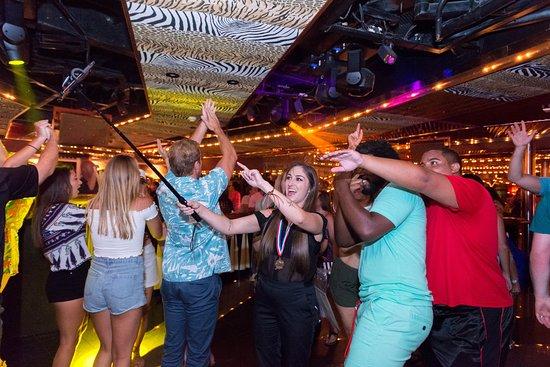 Rex Nightclub on Carnival Paradise