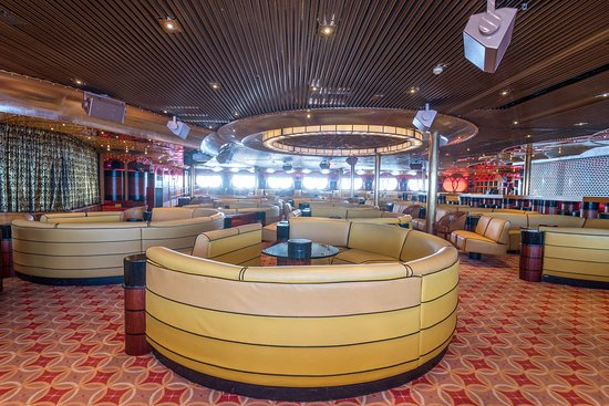 Queen Mary Lounge on Carnival Paradise