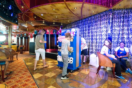 Build-A-Bear Workshop at Sea on Carnival Paradise