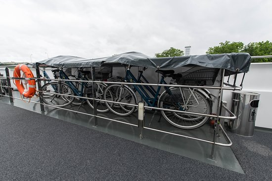 Bicycles on ms Sapphire