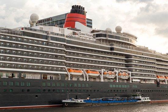Ship Exterior on Queen Victoria