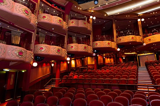 Royal Court Theatre on Queen Victoria