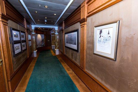 Hallways on Queen Victoria
