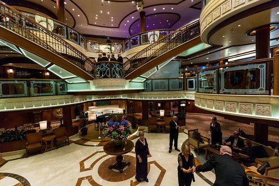 Grand Lobby on Queen Victoria