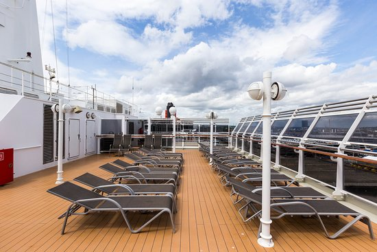 The Sports Deck on Queen Victoria