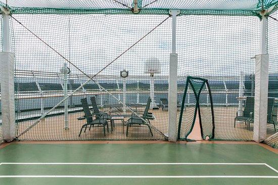 Sports Deck on Queen Victoria