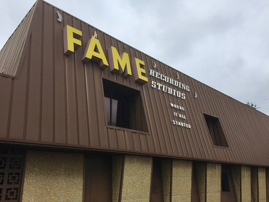 Muscle Shoals, AL: Those iconic yellow letters.