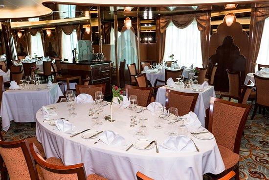 Britannia Restaurant on Queen Victoria