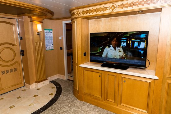 The Master Suite on Queen Victoria
