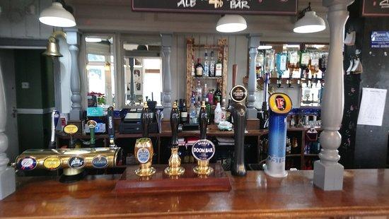 The Bull Inn East Farleigh: updated bar