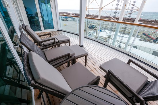 The Winter Garden Suite on Seabourn Quest