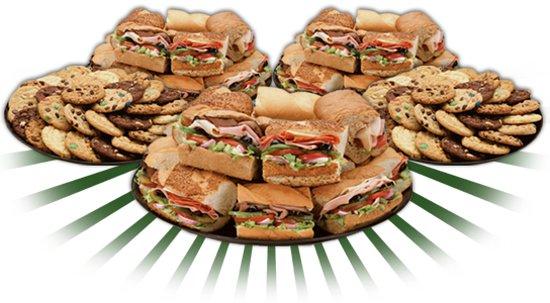 Subway: Platter
