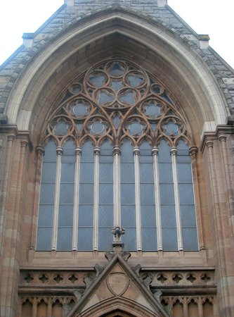 Mary Immaculate Church: Stained glass abounds