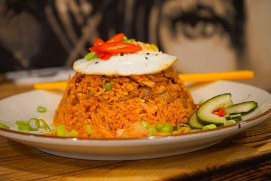 Mi asian street food: Kimchi fried rice