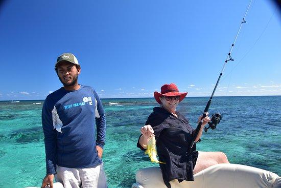Belize Parasail Plus: Fishing was a blast!