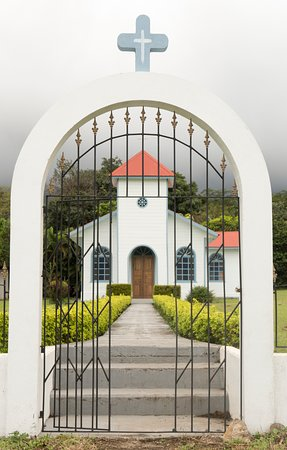 Province of Guanacaste, Costa Rica: Magical church hidden in the rainforest! ©2019kimironsphotography