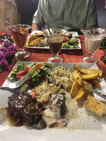 New Anatolian Grill Steak House : dinner