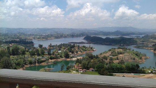 Antioquia Department, Colombia: represa de Guatupé- Colômbia