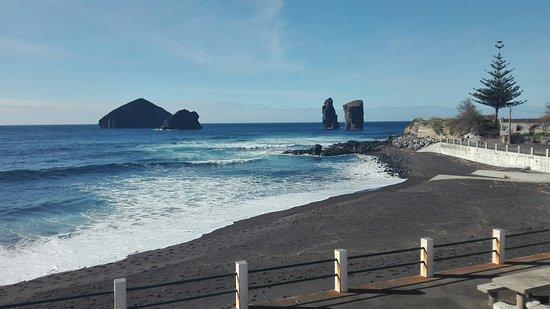 Praia de Mosteiros fotografia