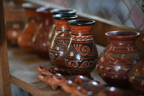 Province of Guanacaste, Costa Rica: Local crafts. Was so interesting to learn where they get the colors from.  ©2019kimironsphotography