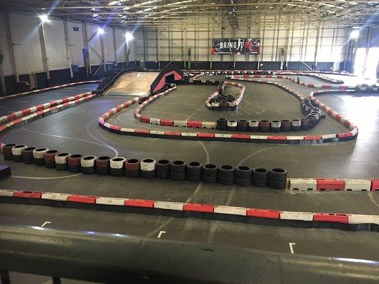 TeamSport Indoor Go Karting Manchester Trafford Park