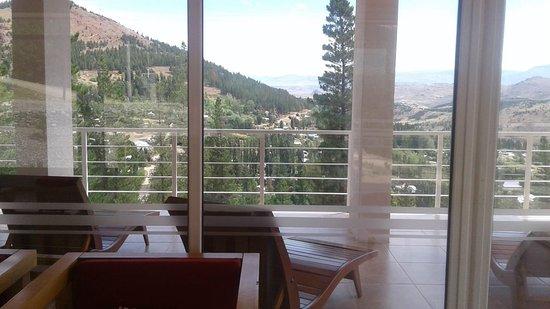Huinganco, Argentina: Hermosa vista desde la hostería. Inmejorable....inolvidable