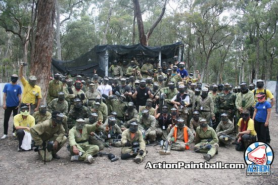 Rouse Hill, Australia: Massive bucks party on the Gallipoli field!