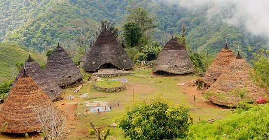 Flores, Indonesia: Wae Rebo traditional village have own unique. in this place also has strong culture still kept by the local people. don't miss to visit.