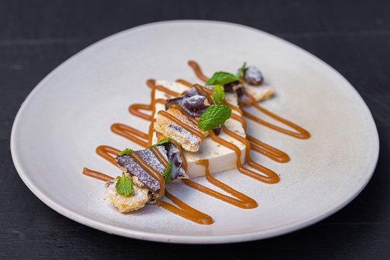 """Kampung Snickers"" peanut butter parfait with chocolate honeycomb butterscotch caramel & dark Balinese chocolate praline"