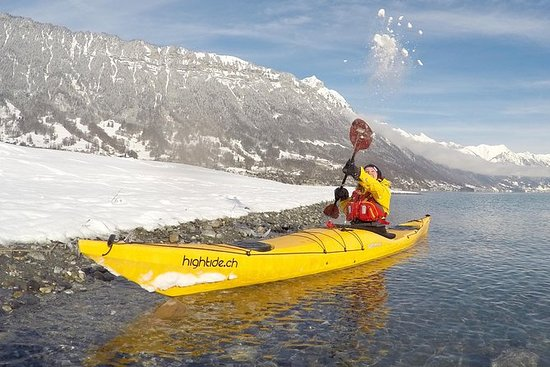 Winter Kayak Tour of the Turquoise...