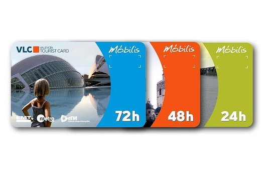 Valencia Tourist Card 24, 48 og 72...
