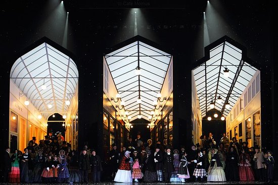 La bohème na casa de ópera lírica