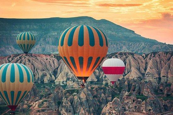 Tour de balão de ar quente na Turquia...