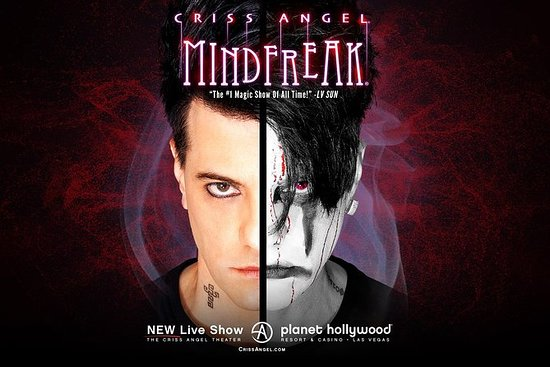 Criss Angel MINDFREAK no Planet...