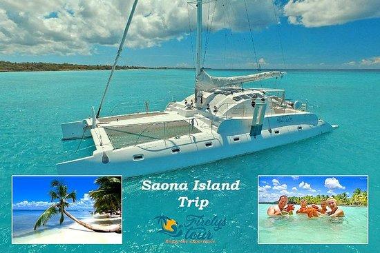 Viagem à Ilha Saona pela Firelys Tour...