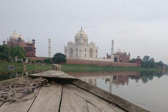 Taj Mahal Tour av Indias raskeste tog