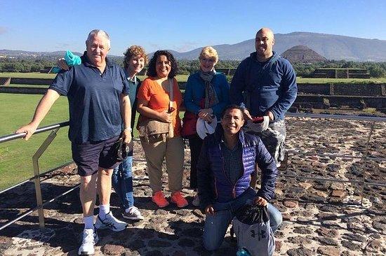 Teotihuacan en el mejor tour privado.