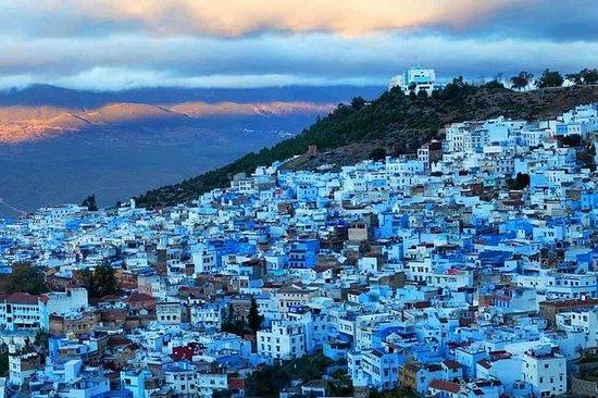 Utflukt til den blå byen fra Tanger...