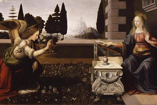 Uffizi y Vinci, la ciudad natal de...