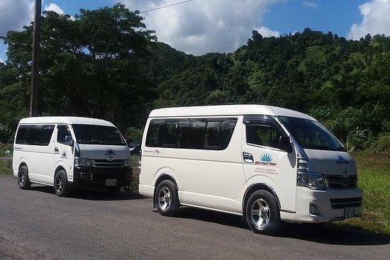 Warwick Fiji Resort to Nadi Airport...