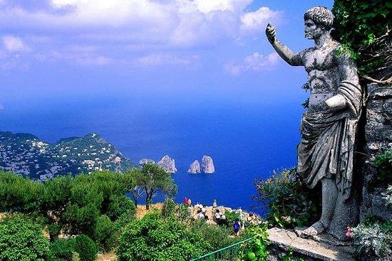 Capri tour à pied pour groupe jusqu'à...