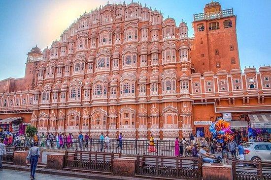Le même jour, voyage de Jaipur au...