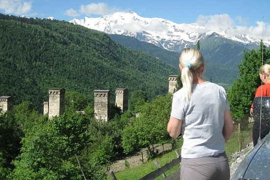 6 days Svaneti private tour ( Mestia...