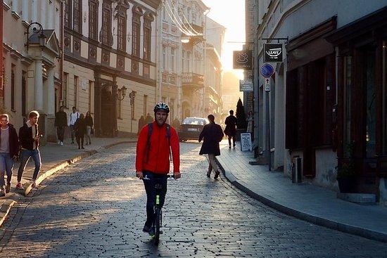 Vilnius Sunset Footbike Tour