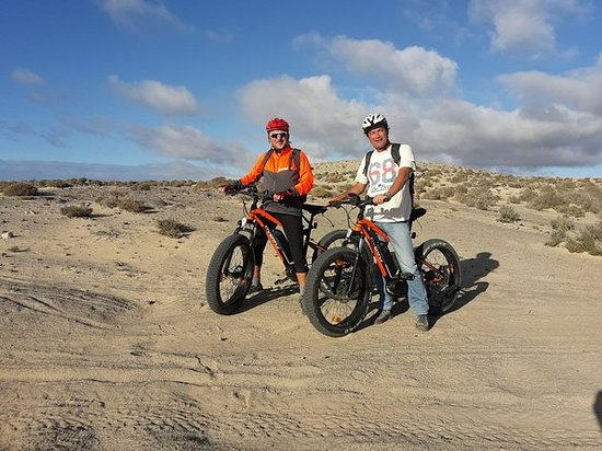 E-bike (fat bike) Tour in Costa Calma