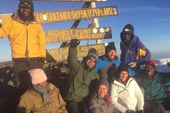 Mt KILIMANJARO CLIMB VIA LEMOSHO 8 ...