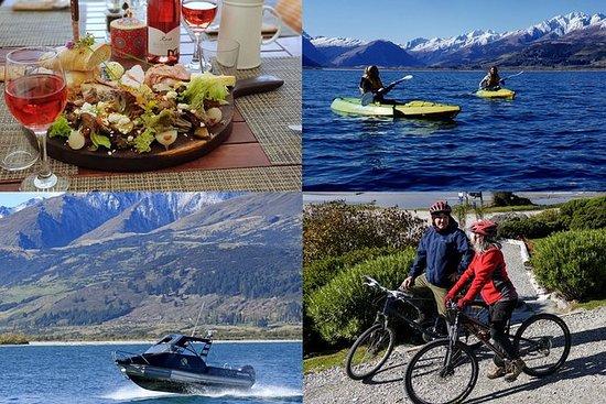 Sykkel, lunsj, kajakk og båtpakke