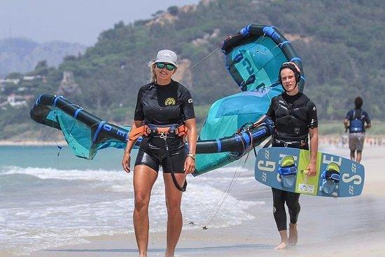 Privat kitesurf-leksjon i Tarifa.